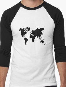 world Men's Baseball ¾ T-Shirt