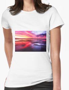 Mornington Peninsula - ocean sunset Womens Fitted T-Shirt