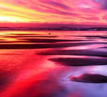 Mornington Peninsula - ocean sunset Sticker