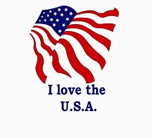 I love the USA Unisex T-Shirt