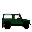 Land Rover Offender by blacktopspirit