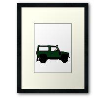 Land Rover Offender Framed Print