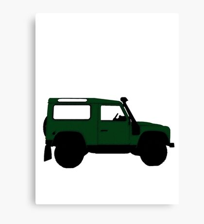 Land Rover Offender Canvas Print