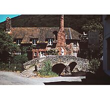 A village in Somerset Photographic Print