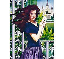 """Haute Coiffure"" Watercolor Photographic Print"