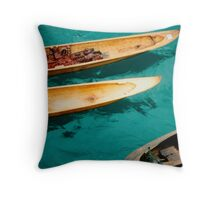 indonesian composition Throw Pillow