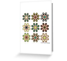 Forest Foot Flowers Greeting Card