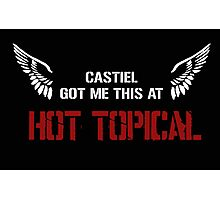 HOT TOPICAL (Black) Photographic Print