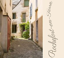 Rochefort-en-Terre, Brittany, France #3 by Elaine Teague