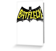 Batfleck Greeting Card