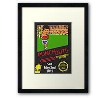 Floyd Mayweather, Jr. Nintendo Punch out parody !!! Framed Print