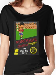 Floyd Mayweather, Jr. Nintendo Punch out parody !!! Women's Relaxed Fit T-Shirt