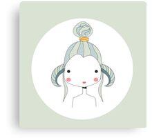 Horoscope Aries sign, girl Canvas Print