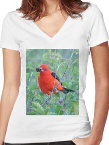 Got Berry? Women's Fitted V-Neck T-Shirt