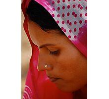 The Sari  Part 2 Photographic Print