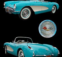 1957 Corvette by WildBillPho