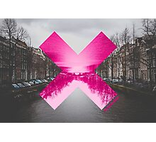Canal X Amsterdam Photographic Print
