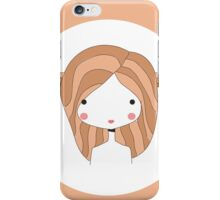 Horoscope Taurus sign, girl iPhone Case/Skin