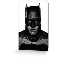 Batman by Ben Affleck Greeting Card