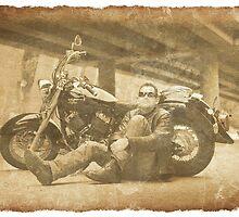 The Biker by Andrew Gordon
