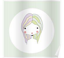 Horoscope Gemini sign, girl Poster