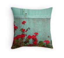 Color Combination Throw Pillow