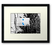 Blue Day Framed Print