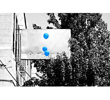Blue Day Photographic Print