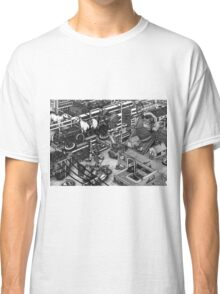 The cleaning robots and the futureistic Moxie horse mobile Classic T-Shirt