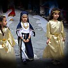 Cuenca Kids 625 - Watercolor by Al Bourassa