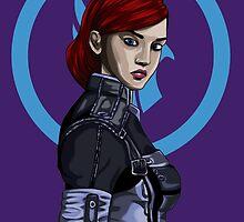 Commander Shepard by Grace Mutton
