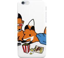 Enjoying the movie? iPhone Case/Skin