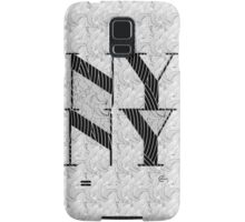 New York , New York, Deco Swing Samsung Galaxy Case/Skin