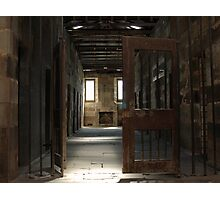 Prison Doors Photographic Print