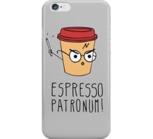 Expresso Patronum iPhone Case/Skin