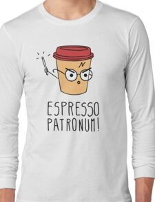Expresso Patronum Long Sleeve T-Shirt