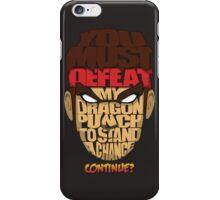 Ryu Wins iPhone Case/Skin
