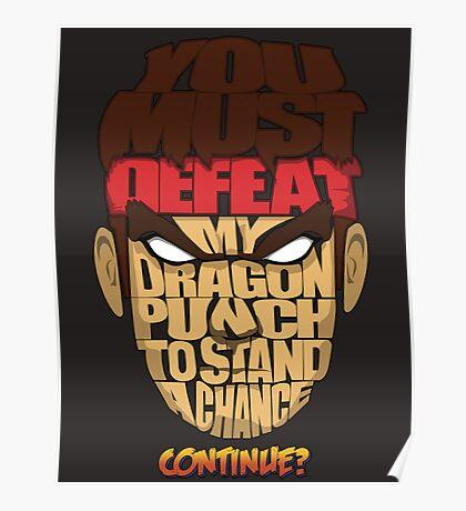 Ryu Wins Poster