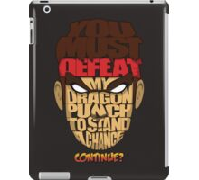 Ryu Wins iPad Case/Skin