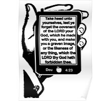 Deuteronomy 4:23 FORBIDDEN FRUIT Poster