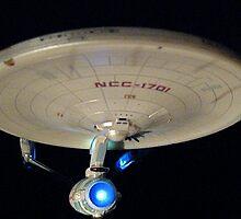 Starship Enterprise by vizhen