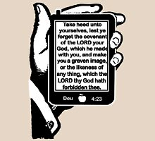 Deuteronomy 4:23 FORBIDDEN FRUIT Unisex T-Shirt