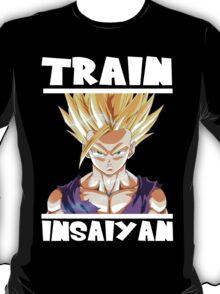 Train insaiyan - Gohan T-Shirt
