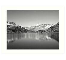 Magnificent Glaciers Art Print