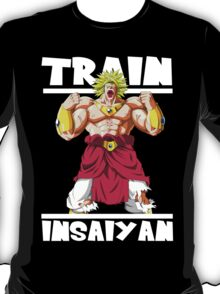 Train insaiyan - Broly T-Shirt