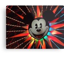 Mickey's Fun Wheel Metal Print