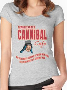 Cannibal Cafe Women's Fitted Scoop T-Shirt