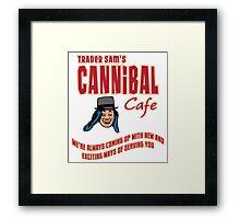 Cannibal Cafe Framed Print