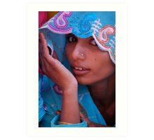 The Sari  Part 3 Art Print