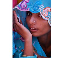 The Sari  Part 3 Photographic Print